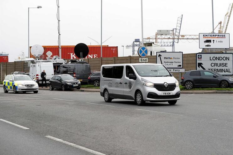 Na semana passada, 39 pessoas foram encontradas mortas dentro de um camião em Essex