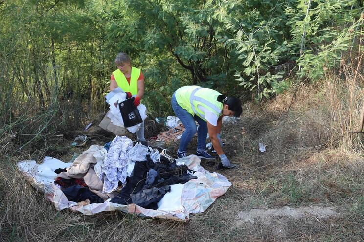 Autarquia diz que limpeza em algumas áreas não era da sua competência