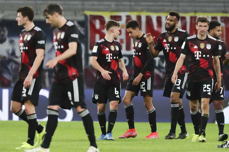O Bayern venceu este sábado