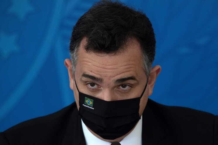 O presidente do Senado, Rodrigo Pacheco, aliado do Bolsonaro, não vê o inquérito com bons olhos
