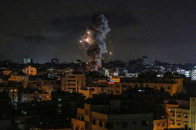 Os mais violentos ataques israelitas destruíram 15 quilómetros de túneis em Gaza