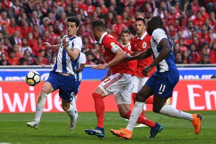 Benfica - F. C. Porto na 30.ª jornada da Primeira Liga 2017/2018
