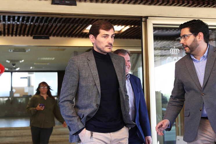 Iker Casillas defendeu pela última vez a baliza do F. C. Porto a 26 de abril de 2019, em Vila do Conde