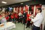 Rui Costa na Casa do Benfica de VN Gaia
