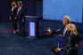 Joe Biden com teste negativo à covid-19 depois de estar com Trump em debate