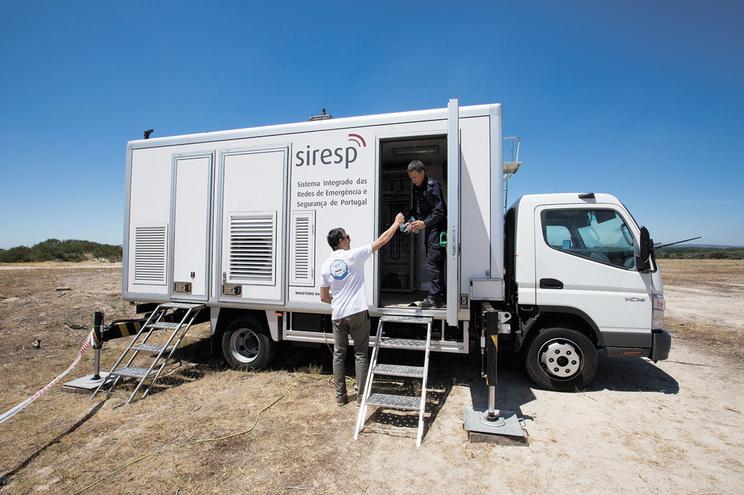 SIRESP é o sistema de rede de comunicações de emergência e socorro