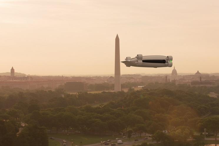 A americana Kelekona assegura que o seu veículo consegue transportar 40 passageiros ou cinco toneladas