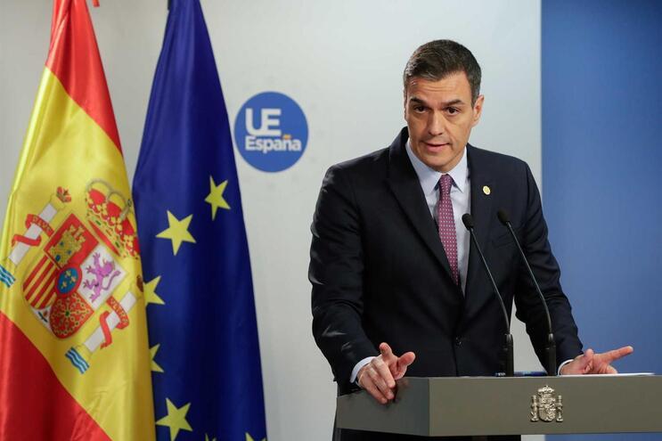 Pedro Sánchez, primeiro-ministro espanhol