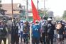 Centenas marcham contra o golpe militar de Myanmar
