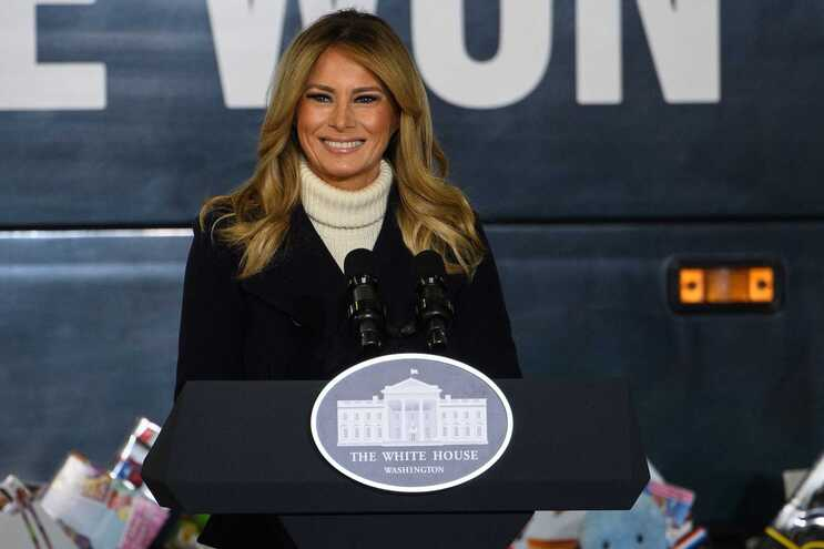 A primeira-dama dos Estados Unidos, Melania Trump