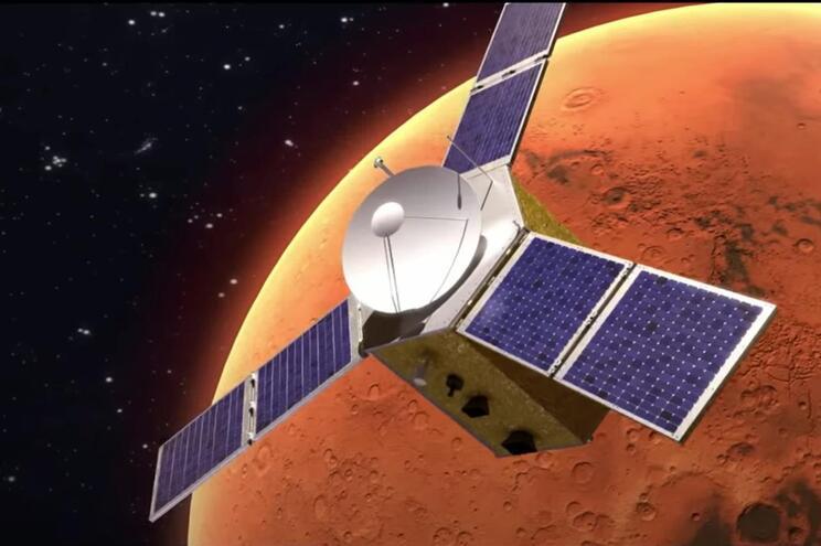 Arábia já chegou a Marte