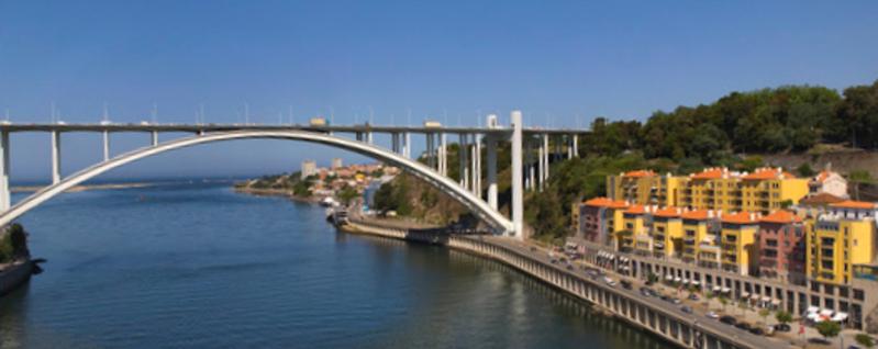 Nova travessia ficará junto à Ponte da Arrábida