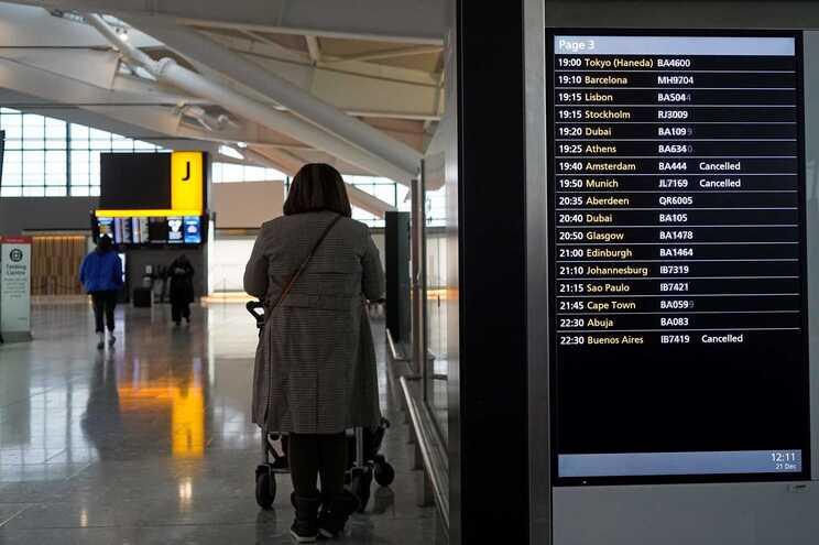 Holanda exige teste para passageiros a partir de dia 29