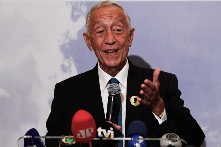 O Presidente da República de Portugal, Marcelo Rebelo de Sousa