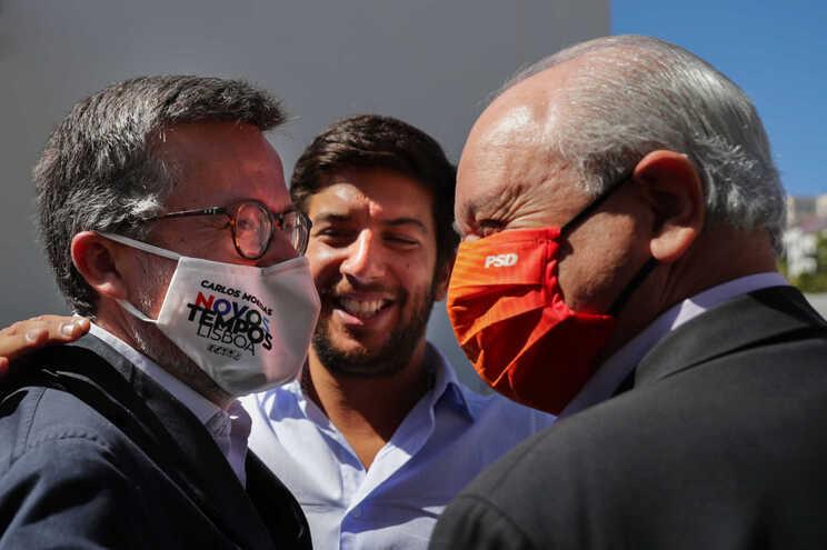 """Carlos Moedas diz ter dado """"tudo por tudo"""" nesta candidatura"""