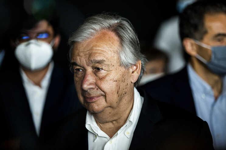 O secretário-geral da ONU, António Guterres