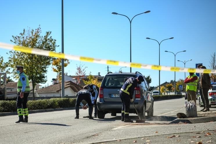 Homem morre atropelado na passadeira em Viseu