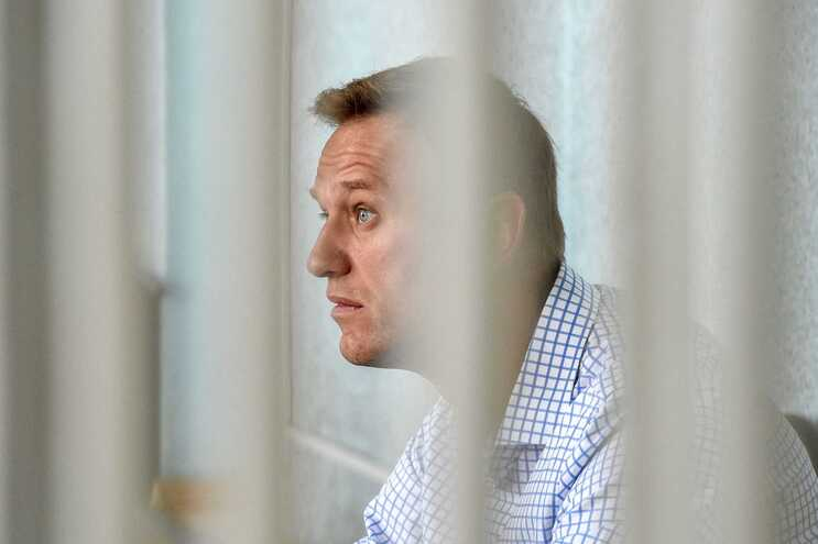 O opositor russo Alexei Navalny está preso desde janeiro