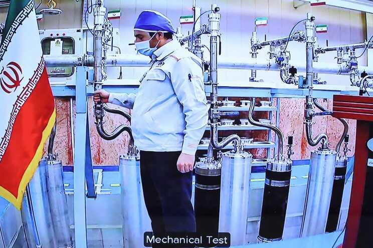 As instalações de enriquecimento de urânio no Irão
