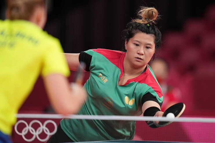 Shao Jienieliminada na segunda ronda do ténis de mesa