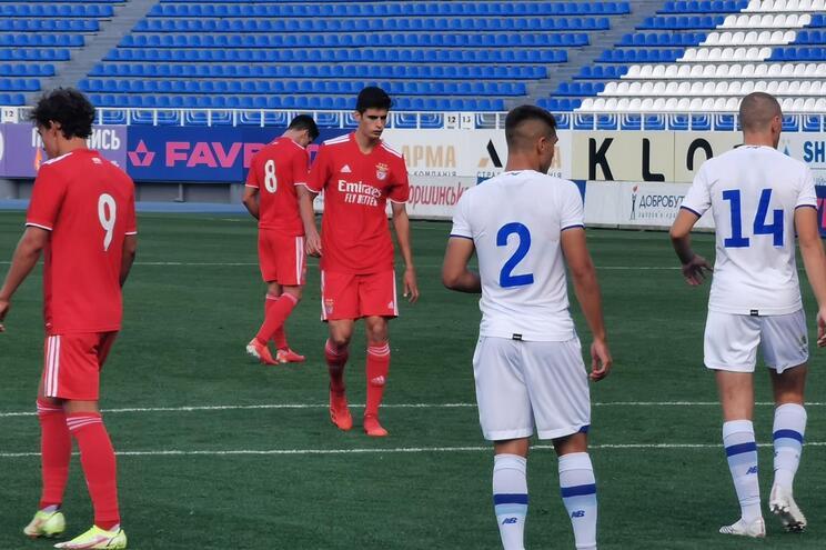 O Benfica estreou-se na Youth League com uma derrota