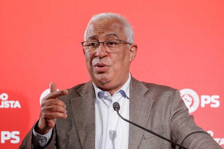 O secretário-geral do PS , António Costa