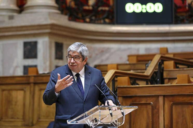 o presidente da Assembleia da República, Ferro Rodrigues