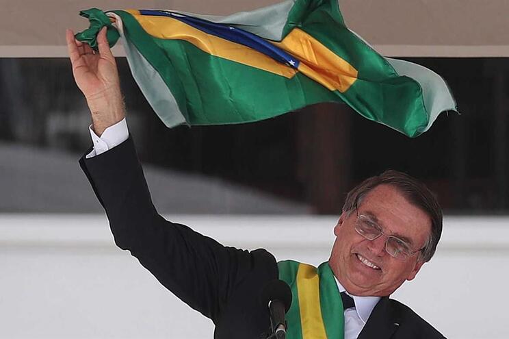 Jair Bolsonaro tomou posse e sucedeu a Michel Temer