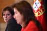 Ministra Mariana Vieira da Silva e a ministra Ana Mendes Godinho após o Conselho de Ministros