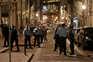 Forte contingente policial nos acessos à Ribeira
