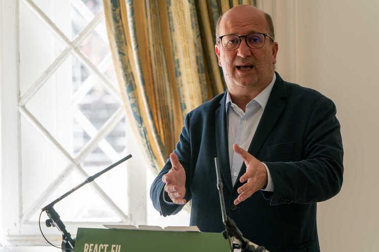 O ministro do Ambiente e da Ação Climática João Pedro Matos Fernandes