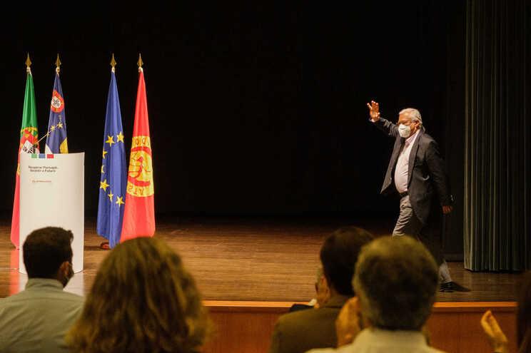 O secretário-geral do Partido Socialista (PS), António Costa