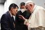 O encontro do Papa com o pai de Alan Kurdi, o menino que é símbolo da crise migratória