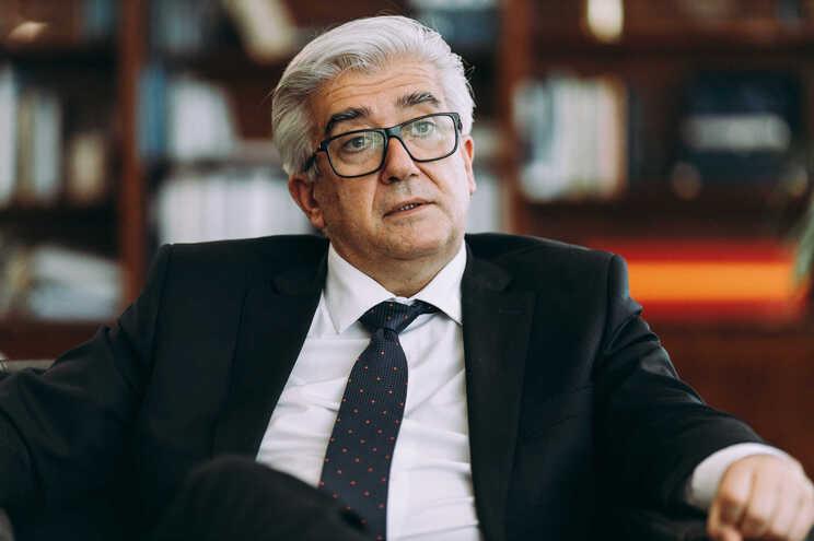 O secretário de Estado da Saúde, António Lacerda Sales