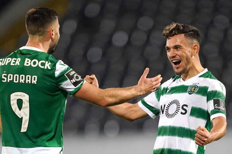 Sporting vence Moreirense e reforça liderança