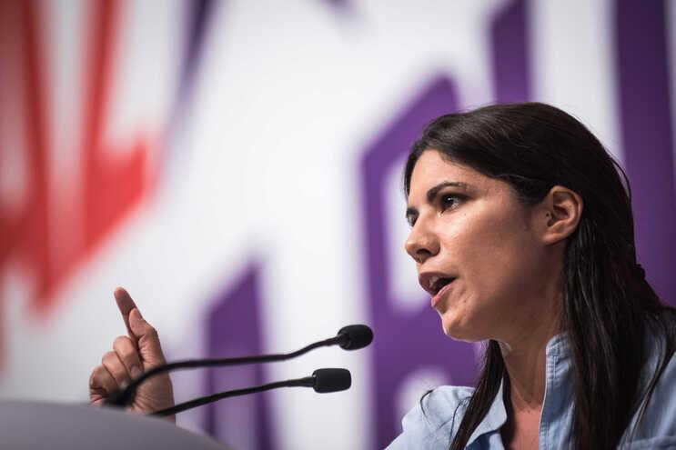 Mariana Mortágua, deputada do Bloco de Esquerda