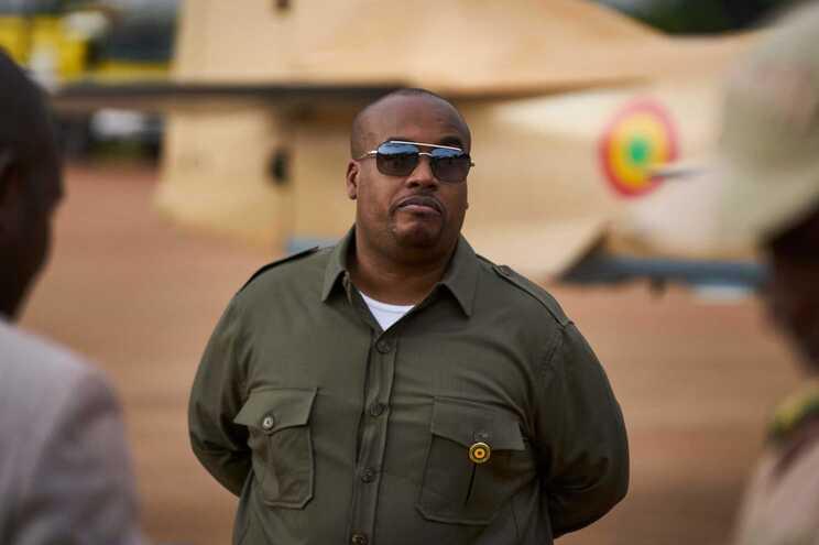 Karim Keita, um dos filhos do antigo presidente do Mali Ibrahim Boubacar Keita