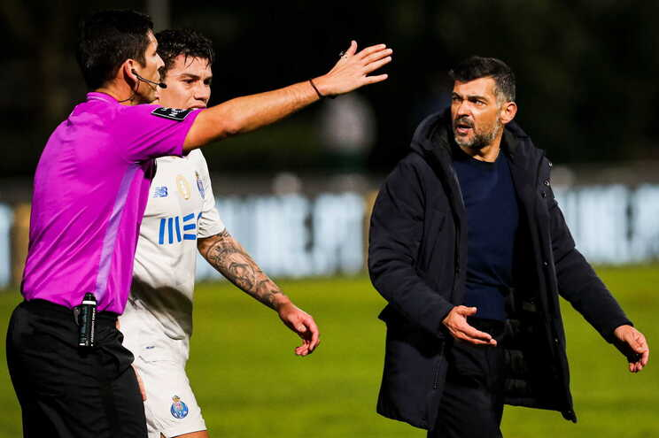 Sérgio Conceição, treinador do F. C. Porto