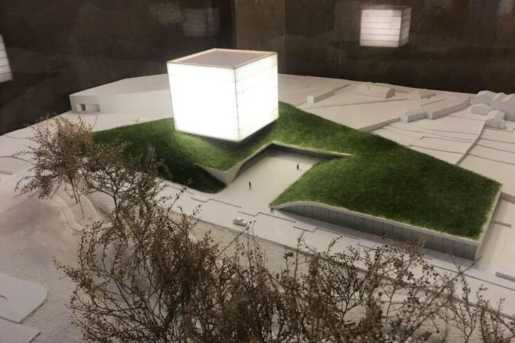 Imagem virtual da futura sede da Liga em Ramalde
