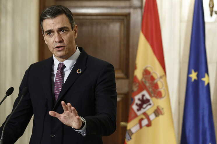 O primeiro-ministro espanhol, Pedro Sánchez