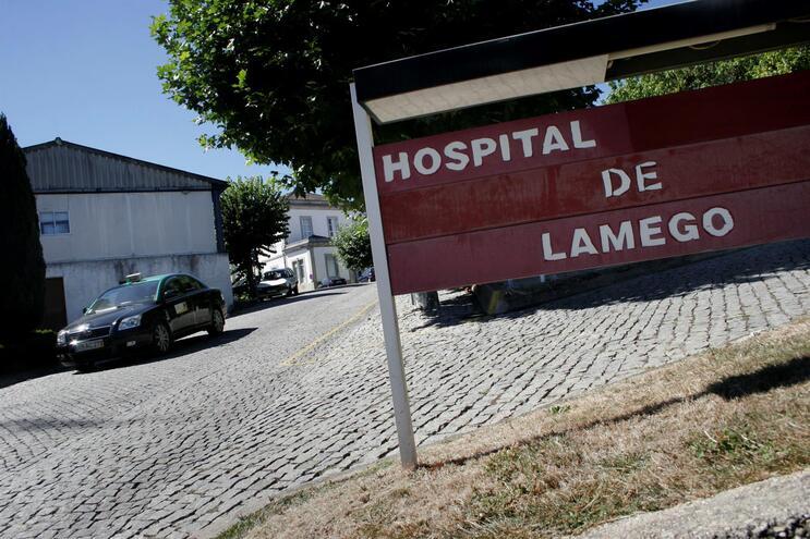 Vítima de agressões foi transportada para o Hospital de Lamego