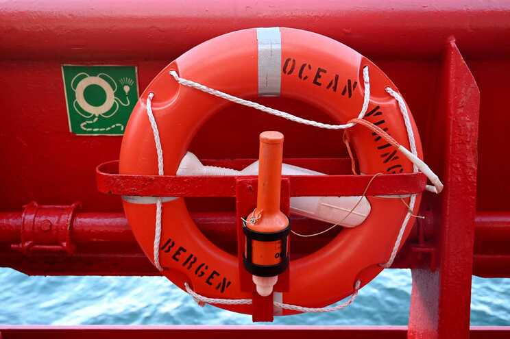 """""""Ocean Viking"""" era o único navio humanitário que se encontrava na área"""