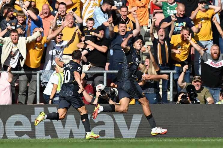 O Wolverhampton venceu este domingo