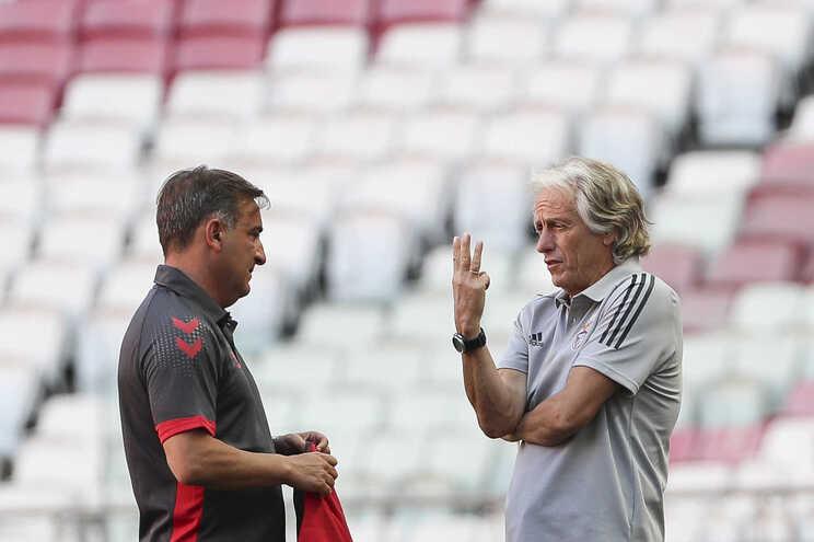 Carlos Carvalhal e Jorge Jesus procuram conquistar a Taça de Portugal