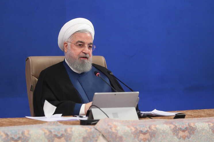 O presidente iraniano, Hassan Rouhani