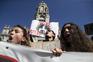 Centenas de jovens estudantes do Porto gritam em defesa do planeta