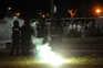 Durante os festejos do Sporting ocorreram confrontos entre os adeptos e a polícia