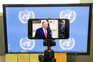 Donald Trump interveio no debate geral da 75.ª sessão da Assembleia Geral da ONU