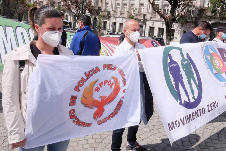 Sindicatos da PSP e da GNR reúnem-se para acertar formas de luta