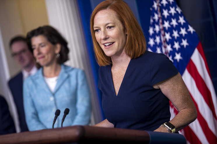 A posição norte-americana foi expressa pela porta-voz da Casa Branca, Jen Psaki